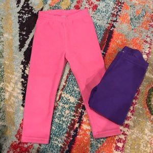 Fleece Straight Leg Pants!